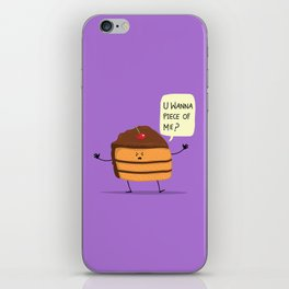 Trouble Caker! iPhone Skin