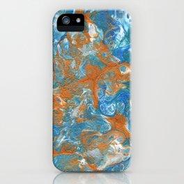 Golden Lacing iPhone Case