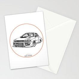 Crazy Car Art 0195 Stationery Cards