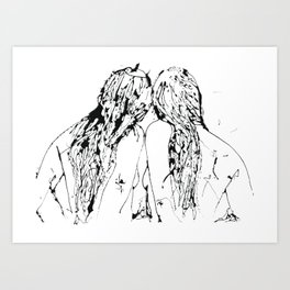 Romi & Lavina Art Print