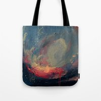 cargline Tote Bags featuring Pink by cargline