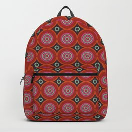 African ethno abstract seamless tribal pattern Backpack