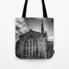 Horned Church Tote Bag
