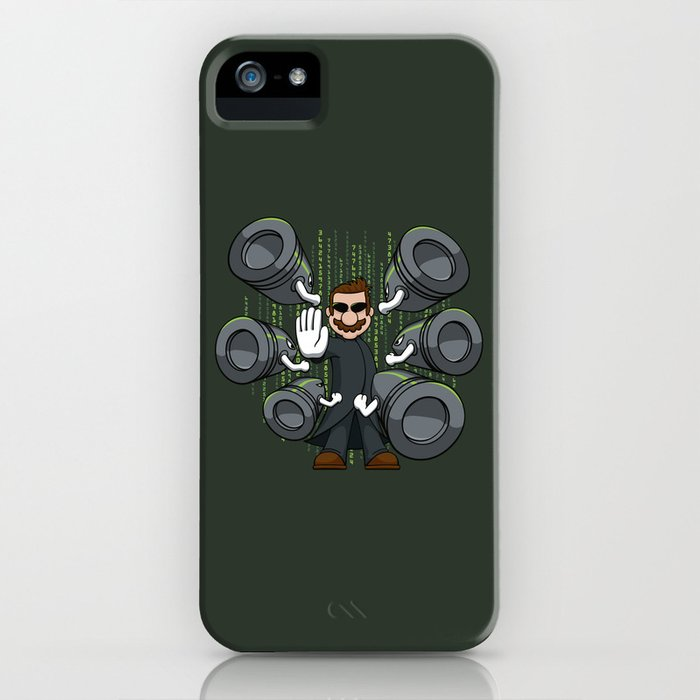 Bullet Time Bill iPhone Case