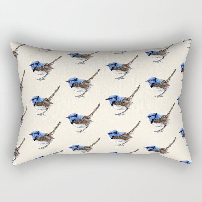 Little Wren, Natural Rectangular Pillow