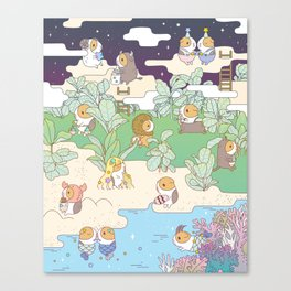 Bubu Horoscope Land Canvas Print
