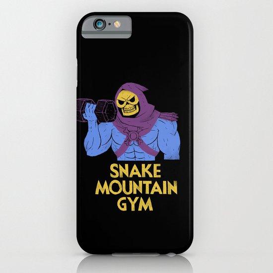 snake mountain gym iPhone & iPod Case