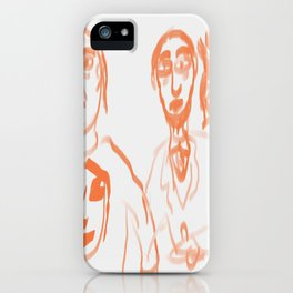 3 dudes iPhone Case