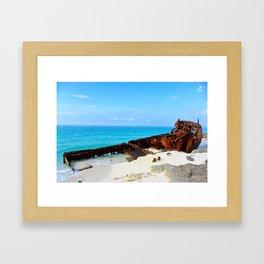 Wreckage Framed Art Print
