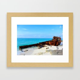 Wreckage Framed Art Print