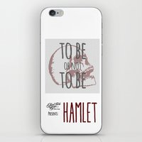 hamlet iPhone & iPod Skins featuring Hamlet by Typo Negative