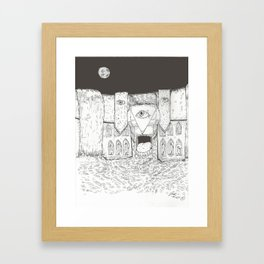 The Walls Framed Art Print