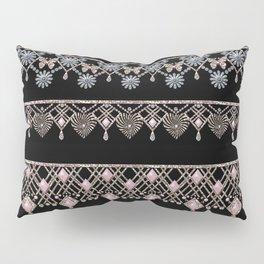 Gold lace 1 Pillow Sham