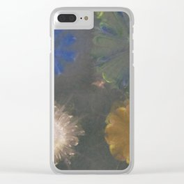 Pajama Constitution Flower  ID:16165-101448-73620 Clear iPhone Case
