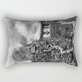 Old Tree in Cill Chriosd Churchyard Rectangular Pillow
