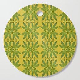 Marijuana Leaf Pattern Cutting Board