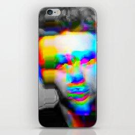 JD Glitch iPhone Skin