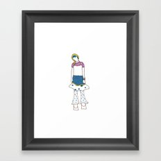 Makota Framed Art Print