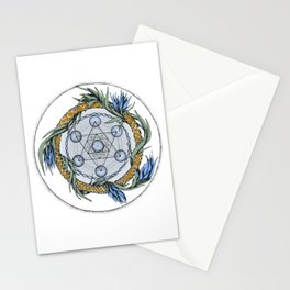 Metatron`s Cube Stationery Cards