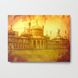Brighton: Royal Pavillion. Metal Print