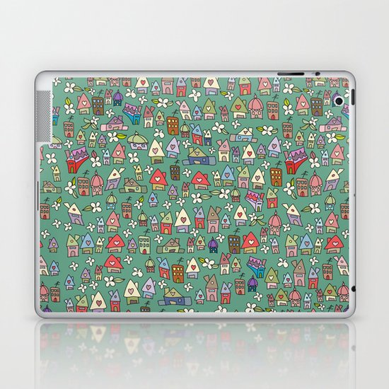 Houses - eco Laptop & iPad Skin