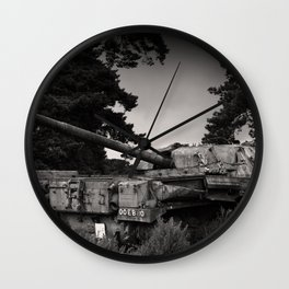 Cold War Warrior Wall Clock
