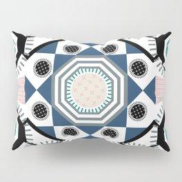 Pastel Mandala Pillow Sham