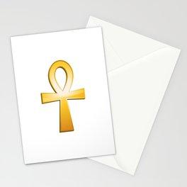 Ankh - egyptian symbol Stationery Cards