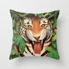 Guardian of the Jungle Throw Pillow