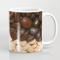 peanuts Mugs featuring Coffee and Peanuts by ON1TZUKA by ON1TZUKA