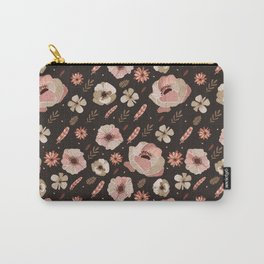 Bohemian rose floral Carry-All Pouch