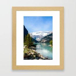 Lake Louise, Alberta Canada Framed Art Print