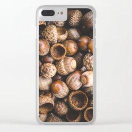 Squirrel Harvest Clear iPhone Case