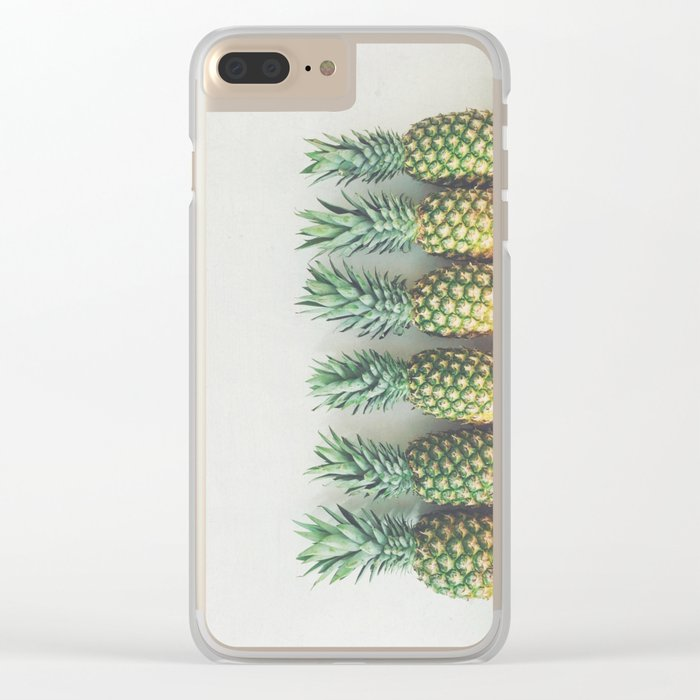 It's All About the Pineapple Clear iPhone Case