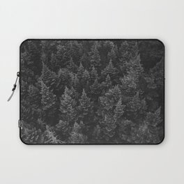 The Forest (Black and White) Laptop Sleeve
