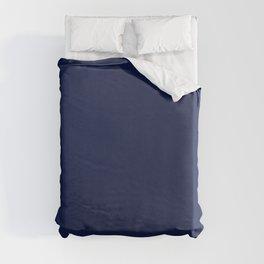Solid Navy blue Duvet Cover