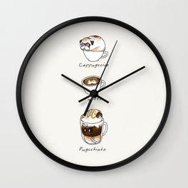 My favorite coffee Wall Clock