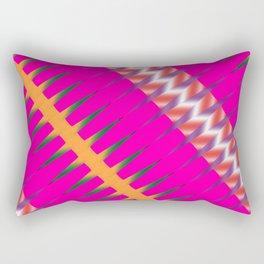 Play of colors Rectangular Pillow