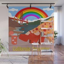 California Dreaming Wall Mural