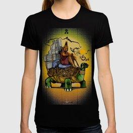 Tortoise Vagabond - Mystic Purveyor of Tales beyond the Desert Sands T-shirt