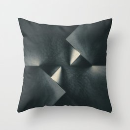 Rusty Old Blades Throw Pillow