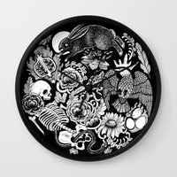 alchemy Wall Clocks featuring Alchemy  by Emily N3ver
