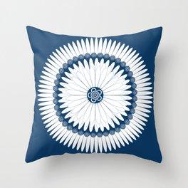 Botanical Ornament Throw Pillow