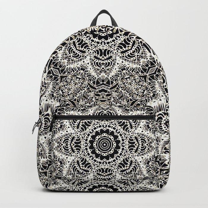 Mehndi Ethnic Style G451 Backpack