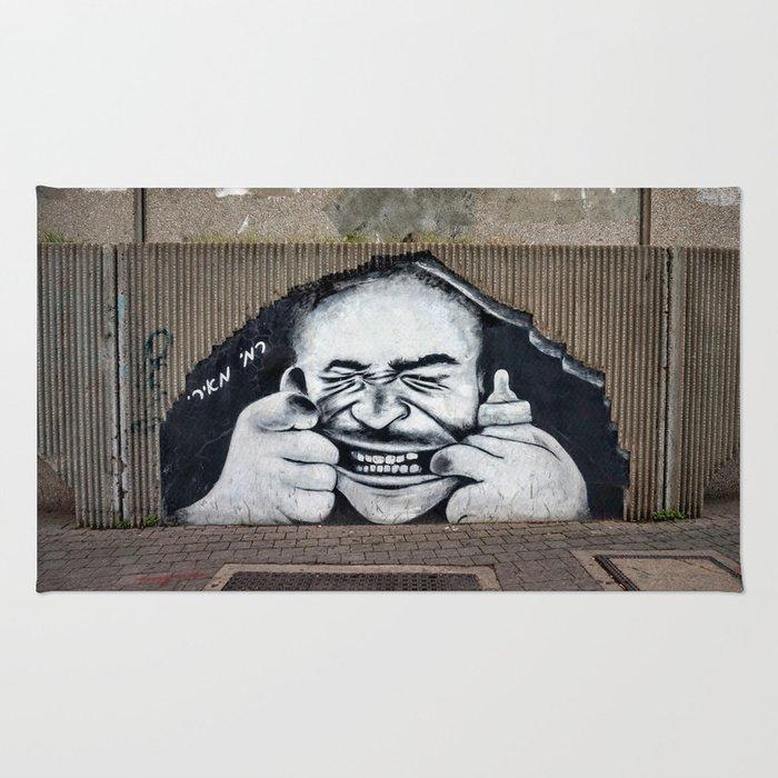 Tel Aviv Street Art Rug