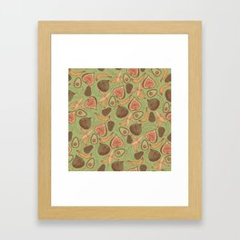 Fig Framed Art Print