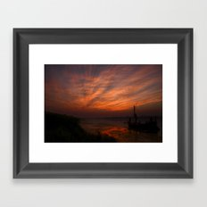 ...that promise of a Golden Tomorrow Framed Art Print