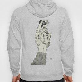 Egon Schiele Zeichnungen II (Drawings 2) 1914 Artwork for Posters Prints Tshirts Men Women Kids Hoody