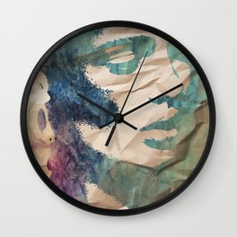 """forever my utopia"" art by weart2 Wall Clock"