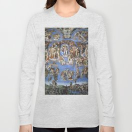 "Michelangelo ""Last Judgment"" Long Sleeve T-shirt"